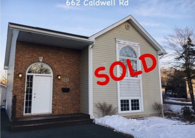 ***SOLD *** 662 Caldwell Road, Dartmouth