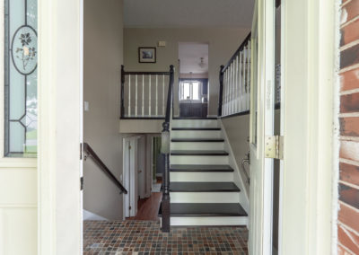 3 - Entry stairs
