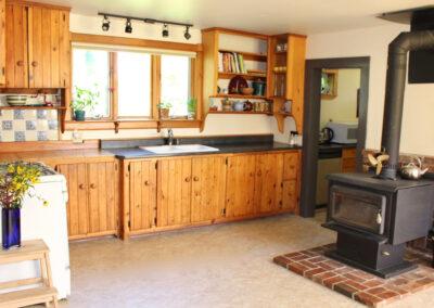 Kitchen Bench View