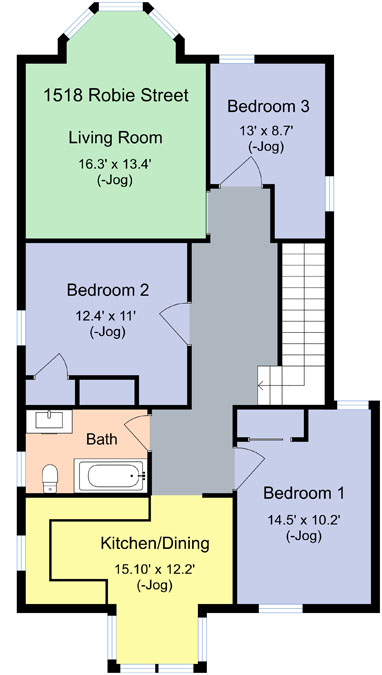 29 1518 Robie Street Floor Plan