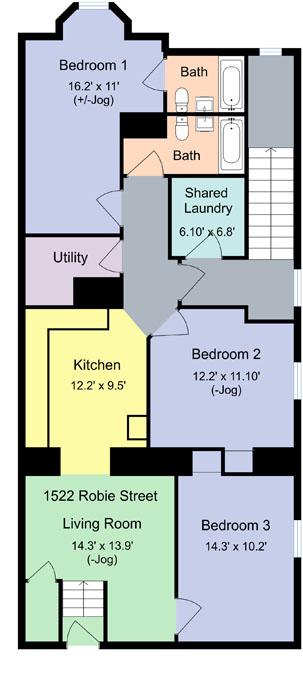 31 1522 Robie St Floor Plan