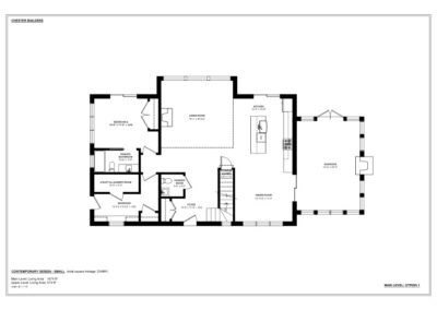 Small Contemporary - Plan